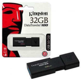 Kingston Data Traveler 100 G3 32GB USB 3.0 Flash Drive
