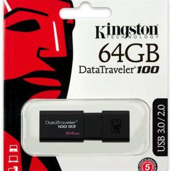 Kingston Data Traveler 100 G3 64GB USB 3.0